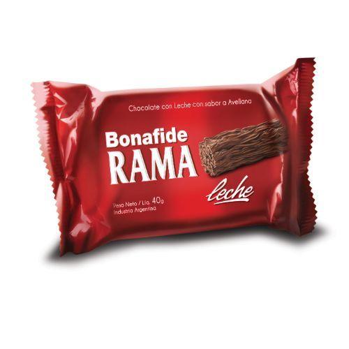 BONAFIDE CHOCOLATE RAMA (UNIDAD) 3x40 GR.