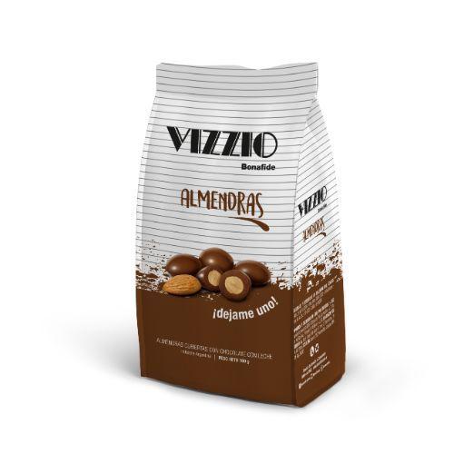 BONAFIDE VIZZIO ALMENDRAS C/CHOCOLATE *100 GR.
