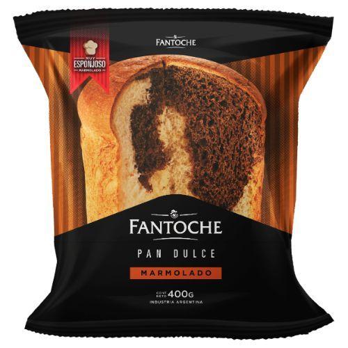 FANTOCHE PAN DULCE MARMOLADO *400 GR.