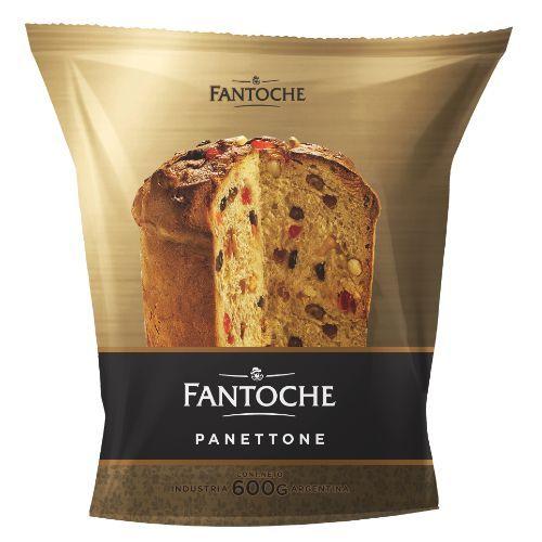 FANTOCHE PAN DULCE PANETTONE *600 GR.