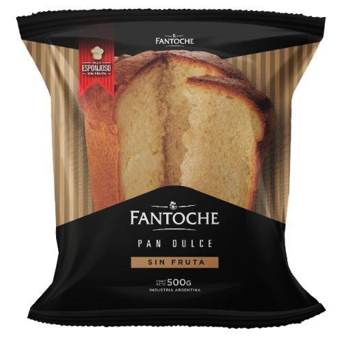 FANTOCHE PAN DULCE S/FRUTA *400 GR.