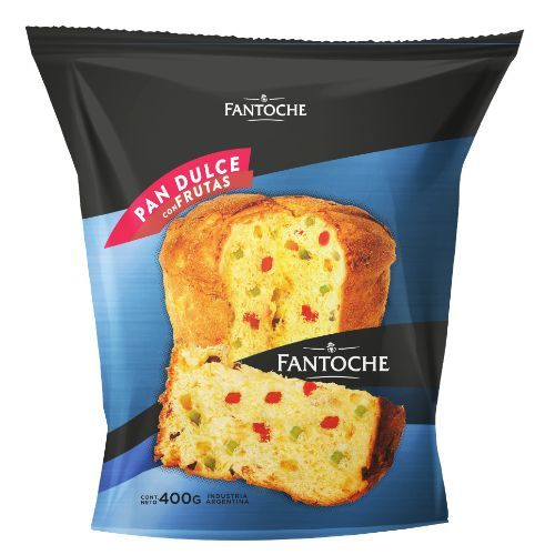 FANTOCHE PAN DULCE C/FRUTAS *400 GR.