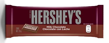 HERSHEYS CHOCOLATE C/LECHE 6x20 GR.
