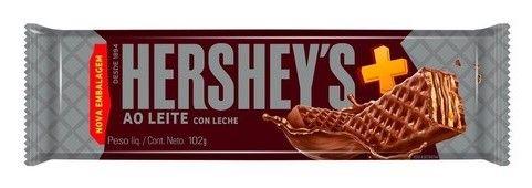 HERSHEYS OBLEA CHOCOLATE C/LECHE x102 GR.