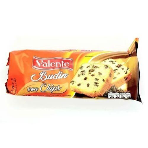 VALENTE BUDIN C/CHIPS CHOCOLATE *170 GR.