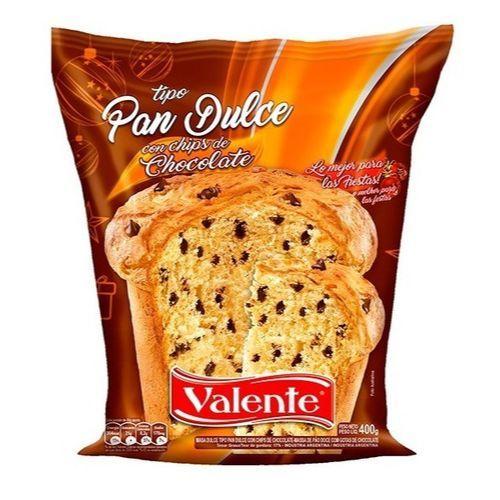 VALENTE PAN DULCE C/CHIPS CHOCOLATE *400 GR.