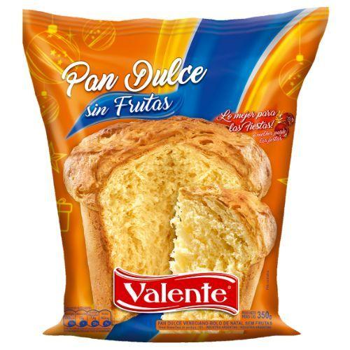 VALENTE PAN DULCE S/FRUTA *350 GR.